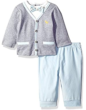 Baby Boys'' Preppy Pup Pant Set
