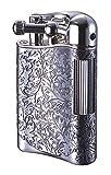 Sarome Flint Lighter for Pipe PSD12-12 Antique silver arabesque - Best Reviews Guide