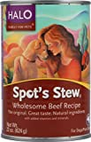 Halo Purely For Pets Spot's Stew® for Dogs Wholesome Beef Recipe -- 22 oz [ Pa ck of 2 ]