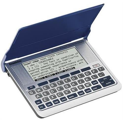 Franklin SSD-256 Speaking Merriam-Webster's Dictionary with Thesaurus
