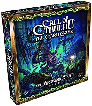 NEW fantasy flight THE THOUSAND YOUNG CALL OF CTHULHU the card game
