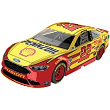 Lionel Racing Joey Logano #22 Shell Pennzoil 2018 Ford Fusion 1:64 Scale Arc Diecast Car