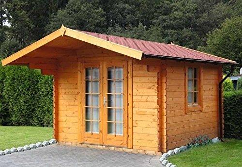 Wolff Finnhaus Gartenhaus Bergen 58 B Aussenmass B X T 320 X 320 Cm