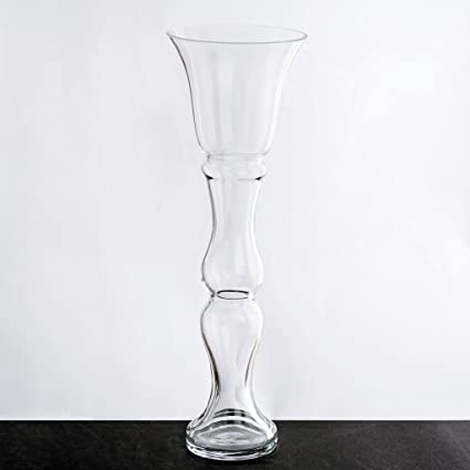 Amazon Balsacircle 4 Pcs 20 Tall Clear Glass Trumpet Vases For