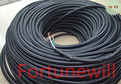 cloth braided wire - 9