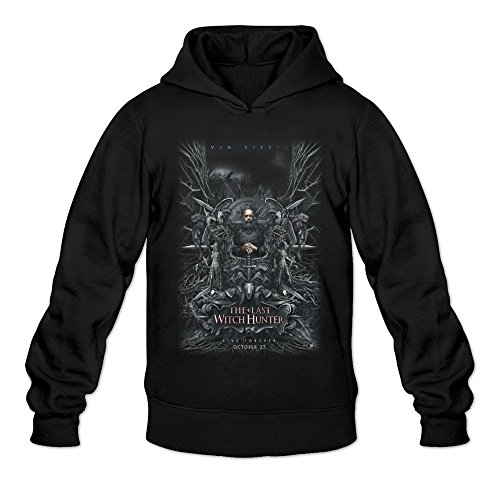 The Last Witch Hunter 2015 Hoodie Black For Men