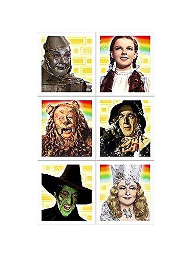 Wizard of Oz Stickers (4 sheets) (Hallmark Stickers)