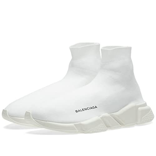 BestVIPP Balenciaga Speed Trainer Sneaker White Unisex Hombre Mujer Balenciaga Zapatillas de Running Zapatos: Amazon.es: Zapatos y complementos