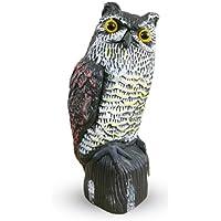 Explopur Fake Owl Ornamental Hunting Decoy Protector Jardín