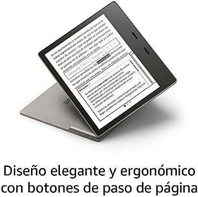 wifi ahora con luz c/álida ajustable 4G gratis 32 GB Nuevo Kindle Oasis grafito resistente al agua