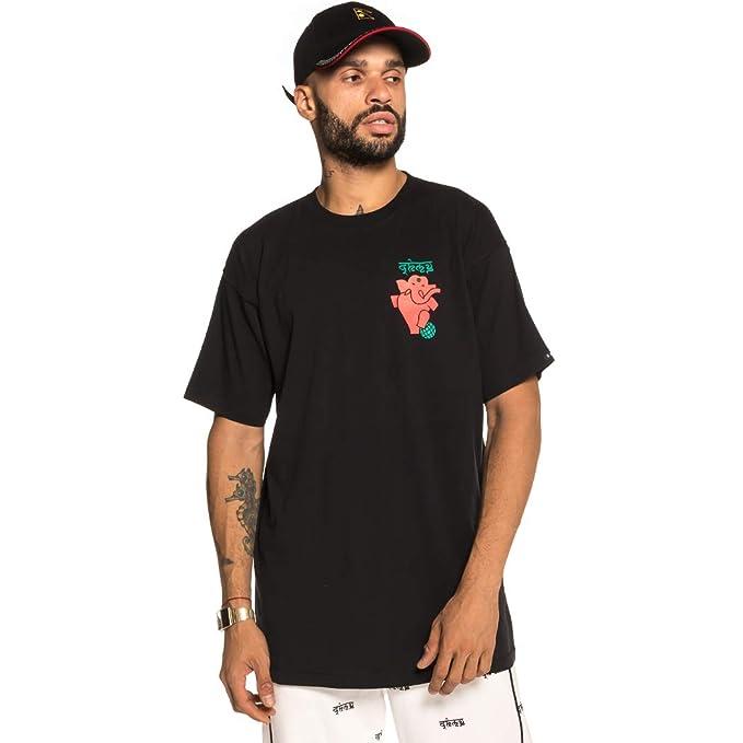 Grimey Camiseta NAG Champa tee FW18 Black-XS