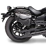 vn 900 saddlebags - Saddlebag Kawasaki VN 900 Custom Arizona Black right