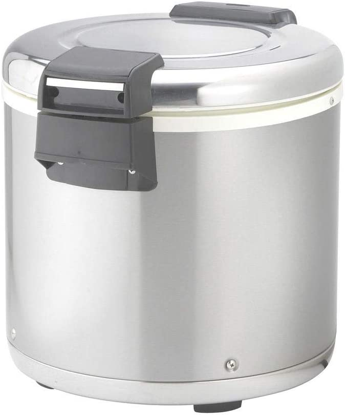 Winco Large Electric Rice Warmer - 100 Cup - 1 set.