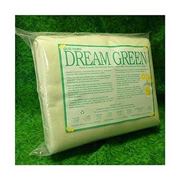 Quilters Dream verde edredón de bateo – Queen