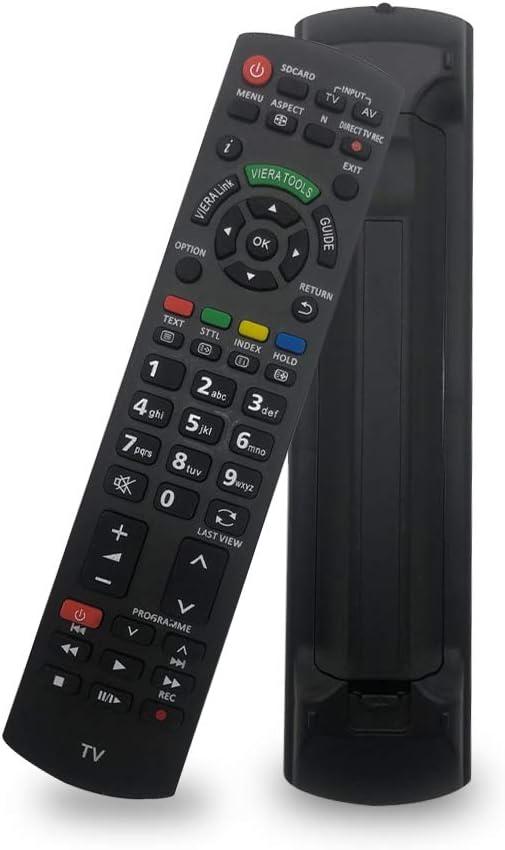 Nuevo Control Remoto de Reemplazo N2QAYB000487 Mandos Panasonic Viera Smart TV N2QAYB000350 N2QAYB000572 N2QAYB000753: Amazon.es: Electrónica