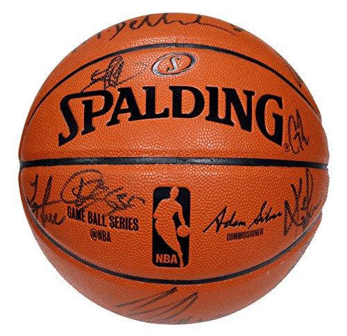 Cleveland Cavaliers Cavs 2015-16 Team Autographed Signed Spalding NBA Game Replica Basketball SGC COA Lebron Kyrie Love Spalding Autograph