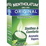 Mentholatum Original Ointment Soothing Relief, Aromatic Vapors - 1 oz (Pack of 3)