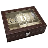 Personalized Jewelry Box Storage Holder Organizer Monogrammed Gifts for Deal (Small Image)