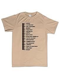 Beard Length Ruler Funny T Shirt