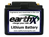 EarthX ETX12A Lithium Battery with BMS. Replaces YTZ7S, YTX7L-BS, YTX7A-BS, YT7B-BS, YTZ5S, YTX4L-BS, YTX5L-BS