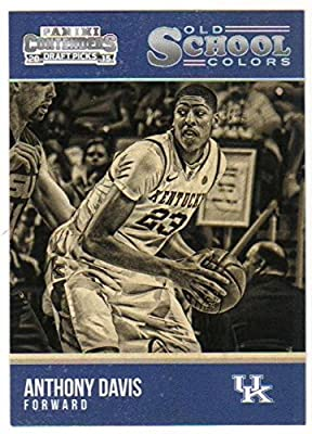 2015-16 Panini Contenders Draft Picks Old School Colors #2 Anthony Davis Kentucky Wildcats