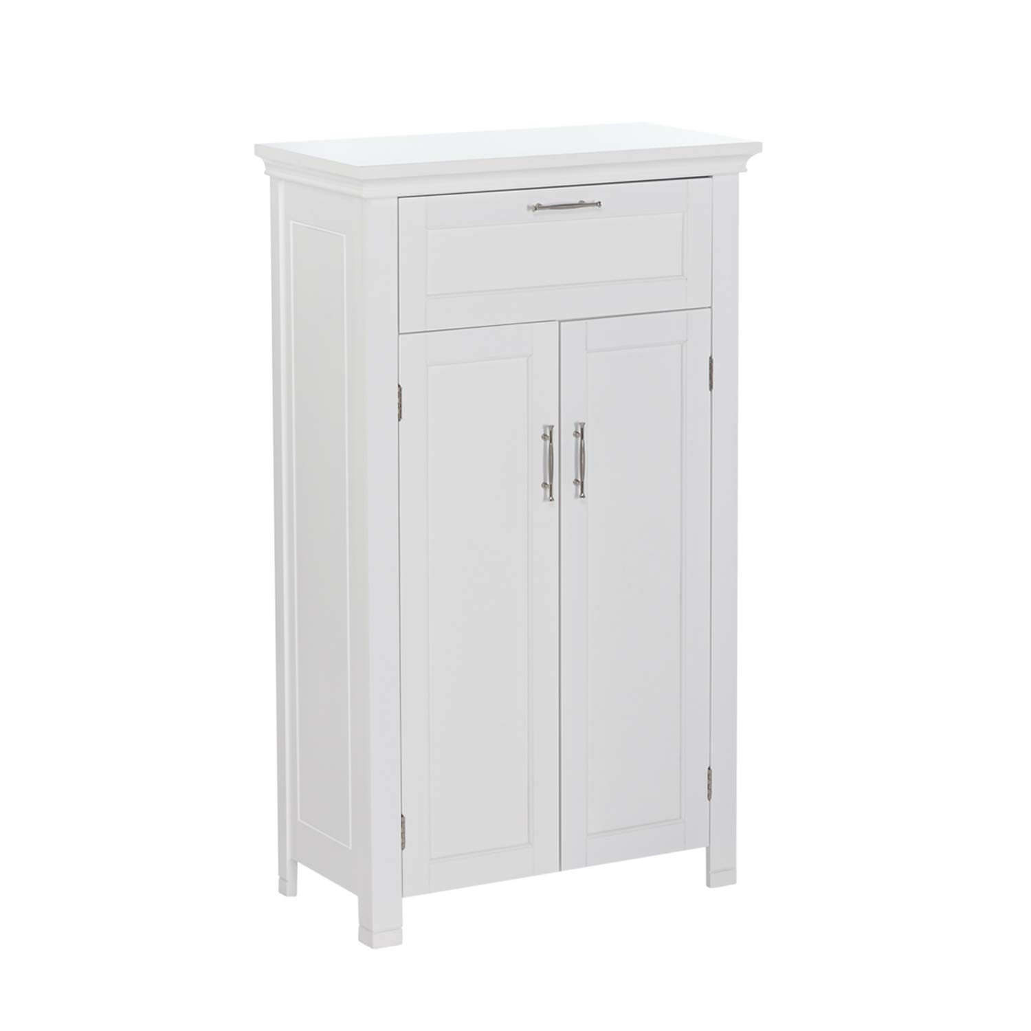 RiverRidge Somerset Collection Two-Door Floor Cabinet, White