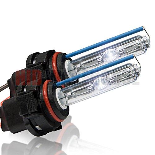 HID-Warehouse HID Xenon Replacement Bulbs - 5202/12086 8000K - Medium Blue (1 Pair) - 2 Year Warranty