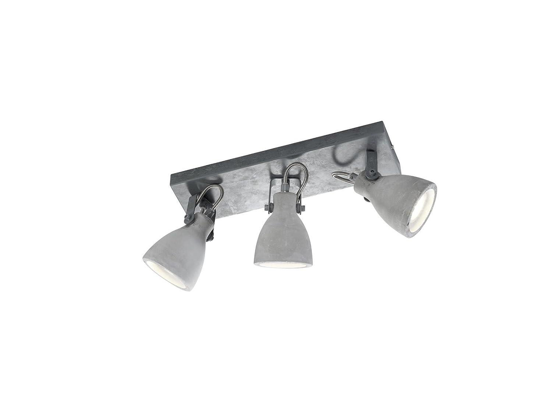 Moderne Lampen 18 : Trio leuchten 802500378 timber grau 10 x 35 x 18 cm: amazon.co.uk