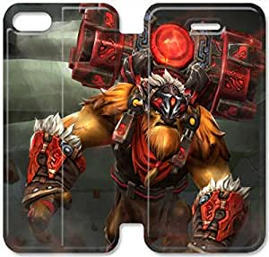 Screen Protection Phone Cases Dota 2-7 iPhone 6/6S Plus 5.5 Inch Leather Flip Case