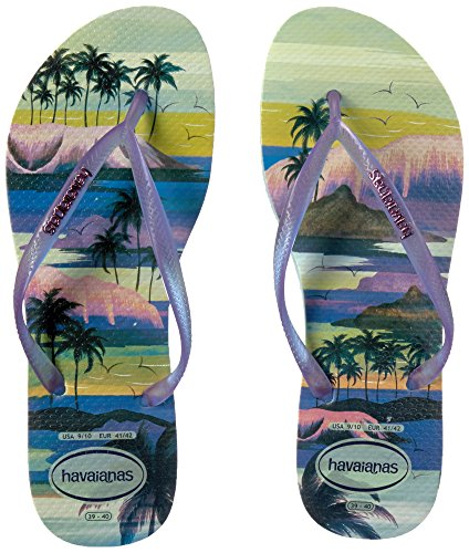 Pictures of Havaianas Women's Slim Paisage Sandal Flip Flop 8 M US 4