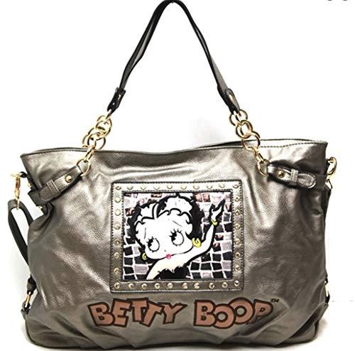 Betty Boop Pewter Bronze Shoulder Purse