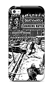 Durable Defender Case For Iphone 5c Tpu Cover(death Watch Comics Anime Comics)