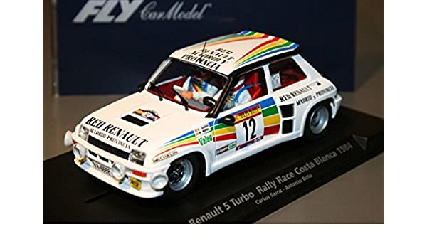 Fly - Scalextric slot 88169 renault 5 turbo rally race costa blanca 1984: Amazon.es: Juguetes y juegos