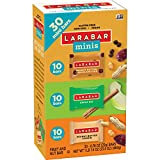 Larabar Minis Fruit and Nut Bars, Apple Pie/Peanut Butter Chocolate Chip/Peanut Butter Cookie, 23.4 Ounce (30 Count)