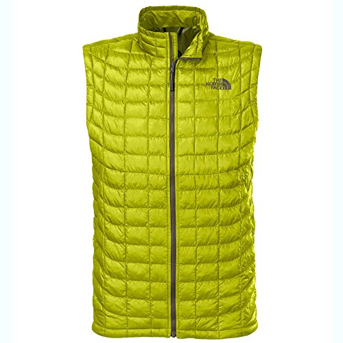 The North Face ThermoBall Insulated Vest - Mens Venom Yellow, XL