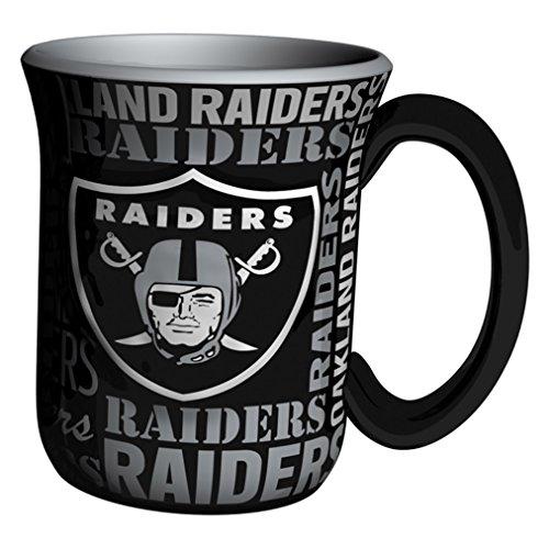 NFL Oakland Raiders Sculpted Spirit Mug, 17-ounce