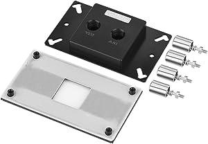 Bewinner Computer CPU Water Cooling Block Jet Type Copper Base Waterblock for AM2 / AM3 / AM2+ / AM3+ / AM4 CPU