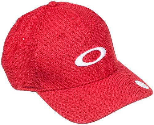 Oakley Golf Ellipse Men's Adjustable Sportswear Hat/Cap, Red Line, One - Oakley Hat Red