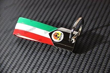 Llavero lollomoto con la bandera de Italia para Fiat Abarth ...