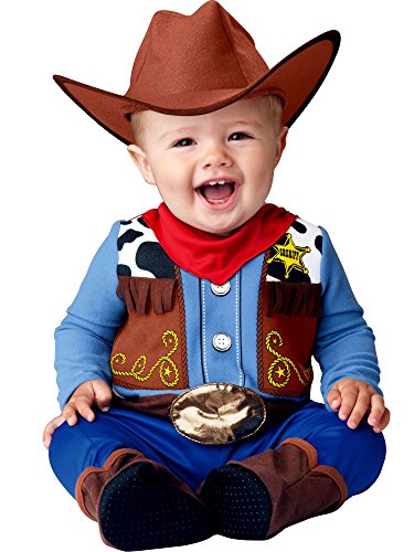 InCharacter Costumes Kid's Wee Wrangler Large Childrens Costume,