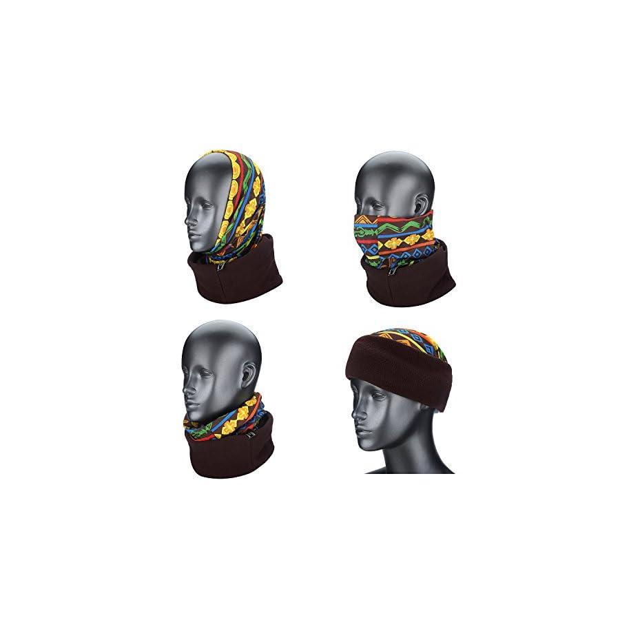 Weanas Thermal Fleece Balaclava Sports Face Mask Windproof Warm for Cycling Motorcycling Skiing Snowboarding Helmet