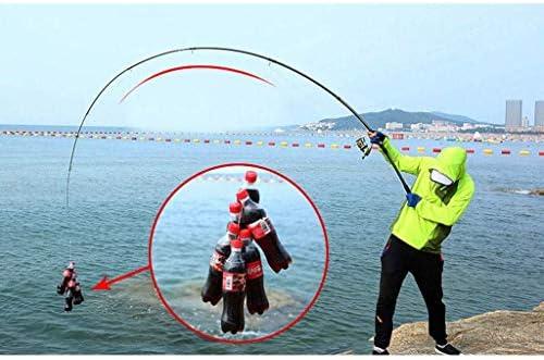 GWM Caña de Pescar telescópica Spin Surf Bait Caña de fundición ...