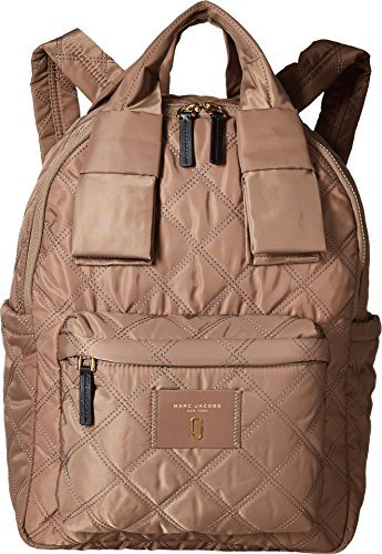 Marc Jacobs Women's Nylon Knot Large Backpack, French Grey, One Size Marc Jacobs Quilted Bag