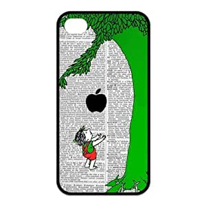Giving Tree iPhone 5s Cases TPU Rubber Hard Soft Compound Protective Cover Case for iPhone 5 5s
