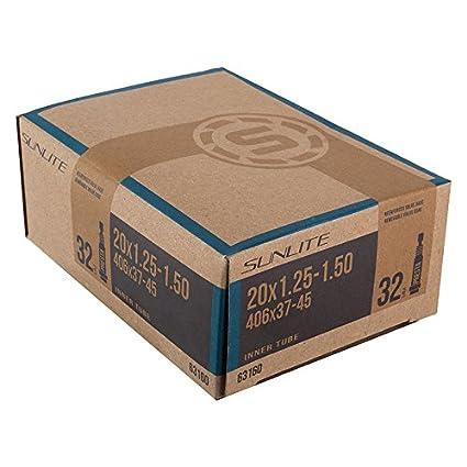 SUNLITE STANDARD  20 x 1.35-1.50 SCHRADER VALVE BICYCLE TUBE