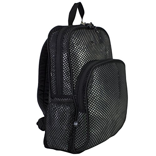 eastsport-mesh-backpack-black