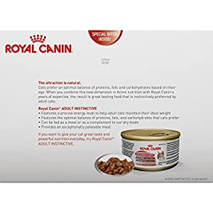 Royal Canin Feline Health Nutrition Adult Instinctive Thin Slice In Gravy canned cat food
