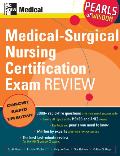 Medical-Surgical Nursing Certification Exam Review: Pearls of Wisdom: Pearls of Wisdom Pdf