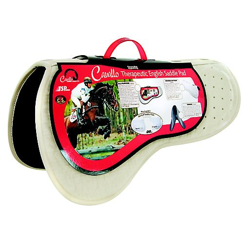 Cavallo Horse & Rider English All Purpose Performance Enhanced Saddle Pad