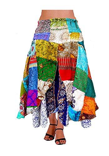 Indian Silk Skirt Dress - 2
